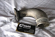 Nissan Skyline Aluminum Intercooler Piping BEFORE Chrome-Like Metal Polishing and Buffing Services / Restoration Services