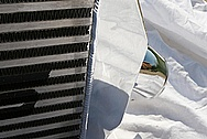 Mitsubishi Lancer Evolution (EVO) Aluminum Intercooler AFTER Chrome-Like Metal Polishing and Buffing Services