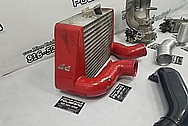 Mazda RX7 Aluminum Intercooler BEFORE Chrome-Like Metal Polishing and Buffing Services / Restoration Services