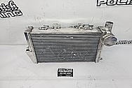 Motorcycle Aluminum Intercooler BEFORE Chrome-Like Metal Polishing and Buffing Services / Restoration Services - Aluminum Polishing