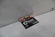 Copper Coupons AFTER Chrome-Like Metal Polishing and Buffing Services Manufacture Polishing