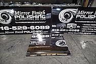 6061 Aluminum Sheet AFTER Chrome-Like Metal Polishing - Aluminum Polishing Services - Manufacturer Polishing Services