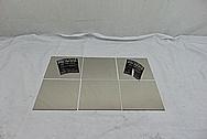 "Grade 5 Titanium .03"" and .016"" Thick AFTER Chrome-Like Metal Polishing - Titanium Polishing - Manufacturer Polishing"