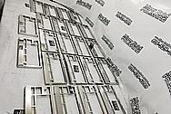 Aluminum Custom Keyboards AFTER Chrome-Like Metal Polishing and Buffing Services - Aluminum Polishing Services - Manufacturer Polishing