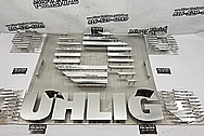 UHLIG Stainless Steel Sign Art AFTER Chrome-Like Metal Polishing and Buffing Services / Restoration Services - Aluminum Polishing