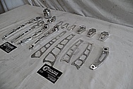 Vance & Hines Aluminum Motorcycle Parts AFTER Chrome-Like Metal Polishing - Stainless Steel Manufacturing Polishing / Production Polishing