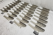 Indian Motorcycle Stainless Steel Brackets BEFORE Chrome-Like Metal Polishing and Buffing Services - Stainless Steel Polishing