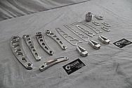 Vance & Hines Aluminum Motorcycle Parts BEFORE Chrome-Like Metal Polishing - Stainless Steel Manufacturing Polishing / Production Polishing