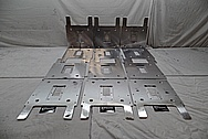 Aluminum Audio Manufacturer Cover Pieces BEFORE Chrome-Like Metal Polishing - Aluminum Polishing - Manufacture Polishing