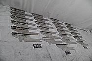 Stainless Steel Indian Scout Brackets BEFORE Chrome-Like Metal Polishing - Aluminum Polishing - Manufacturer Polishing