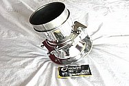Saleen Mustang Aluminum IAC Sensor / Throttle Body AFTER Chrome-Like Metal Polishing and Buffing Services / Restoration Services