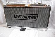 Toyota Supra 2JZGTE Aluminum Fluidyne Radiator AFTER Chrome-Like Metal Polishing and Buffing Services