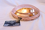 Brass Light AFTER Chrome-Like Metal Polishing and Buffing Services