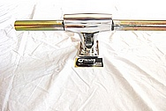 1915CC VW Bug Aluminum HandlePiece AFTER Chrome-Like Metal Polishing and Buffing Services