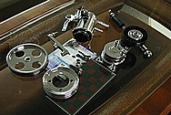 Toyota Supra 2JZGTE Parts AFTER Chrome-Like Metal Polishing and Buffing Services