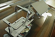 Toyota Supra 2JZGTE Aluminum Battery Tray AFTER Chrome-Like Metal Polishing and Buffing Services