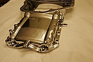 Toyota Supra 2JZGTE Aluminum Oil Pan AFTER Chrome-Like Metal Polishing and Buffing Services