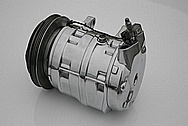 Nissan 300ZX Aluminum AC Compressor AFTER Chrome-Like Metal Polishing and Buffing Services