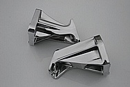 Nissan 300ZX Aluminum Engine Brackets AFTER Chrome-Like Metal Polishing and Buffing Services