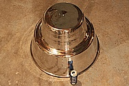 Emerson Centrifugal Roof Ventilator System AFTER Chrome-Like Metal Polishing and Buffing Services