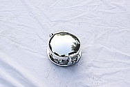 Dodge Viper GTS / RT10 Aluminum Gas Cap AFTER Chrome-Like Metal Polishing and Buffing Services