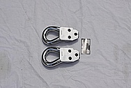 Steel 4x4 Tow Hooks AFTER Chrome-Like Metal Polishing and Buffing Services