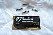 Titanium Sticks BEFORE Chrome-Like Metal Polishing and Buffing Services