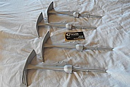 Stainless Steel Gardening Tools BEFORE Chrome-Like Metal Polishing and Buffing Services / Restoration Services