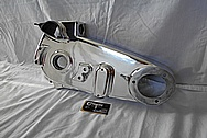 Aluminum Engine Cover AFTER Chrome-Like Metal Polishing and Buffing Services / Restoration Services