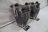 Aluminum Cylinder / Jugs AFTER Chrome-Like Metal Polishing and Buffing Services / Restoration Services