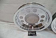 Aluminum Wheels AFTER Chrome-Like Metal Polishing and Buffing Services / Restoration Services