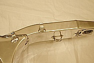 Suzuki GSXR Aluminum Swingarm AFTER Chrome-Like Metal Polishing and Buffing Services