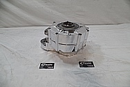 1967 Harley Davidson Aluminum Engine Case AFTER Chrome-Like Metal Polishing and Buffing Services / Restoration Services