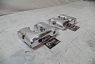 Custom Chopper Aluminum Rocker Boxes AFTER Chrome-Like Metal Polishing and Buffing Services / Restoration Services