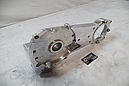 Custom Chopper Aluminum Engine Cover AFTER Chrome-Like Metal Polishing and Buffing Services / Restoration Services