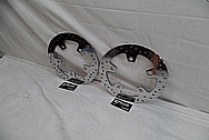 2014 Harley Davidson Street Glide Brake Rotors AFTER Chrome-Like Metal Polishing and Buffing Services / Restoration Services