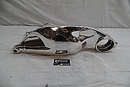 2008 Ducatti 1100 Monster Aluminum Swingarm AFTER Chrome-Like Metal Polishing and Buffing Services / Restoration Services