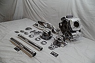 2008 Ducatti 1100 Monster Aluminum Engine Parts AFTER Chrome-Like Metal Polishing and Buffing Services / Restoration Services