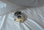 Aluminum Motorcycle Sprocket Cover Piece AFTER Chrome-Like Metal Polishing and Buffing Services / Restoration Services