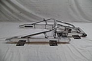 2005 Suzuki Hayabusa Aluminum Motorcycle Swingarm AFTER Chrome-Like Metal Polishing and Buffing Services / Restoration Services
