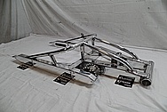 2005 Suzuki Hayabusa Aluminum Motorcycle Swingarm AFTER Chrome-Like Metal Polishing and Buffing Services / Restoration Services
