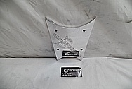 Harley Davidson Aluminum Bracket Plate AFTER Chrome-Like Metal Polishing / Restoration