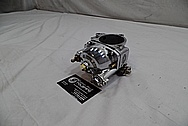 Harley Davidson Aluminum Carburetor AFTER Chrome-Like Metal Polishing / Restoration