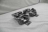 Harley Davidson Aluminum Cylinder Heads AFTER Chrome-Like Metal Polishing / Restoration