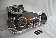 1978 Harley Davidson Lowrider Aluminum Engine Cover Pieces AFTER Chrome-Like Metal Polishing - Aluminum Polishing