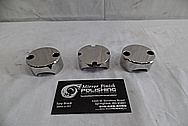 1978 Harley Davidson Lowrider Aluminum Engine Pieces AFTER Chrome-Like Metal Polishing - Aluminum Polishing