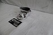 1978 Harley Davidson Lowrider Aluminum Engine Cover Piece AFTER Chrome-Like Metal Polishing - Aluminum Polishing