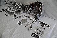 1978 Harley Davidson Lowrider Aluminum Engine Motorcycle Engine Pieces AFTER Chrome-Like Metal Polishing - Aluminum Polishing