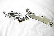 2005 1700cc Yamaha Roadstar Aluminum Triple Tree Top AFTER Chrome-Like Metal Polishing and Buffing Services