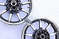 2005 1700cc Yamaha Roadstar Wheel AFTER Chrome-Like Metal Polishing and Buffing Services